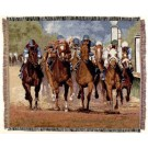 """""""Thundering Hooves"""" 50"""" x 60"""" Tapestry Throw Blanket From Simply Home"""