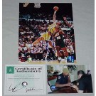 "Dennis Rodman Autographed Los Angeles Lakers ""Rebounding vs. Seattle Supersonics"" 8"" x 10"" Photograph (Unframed)"