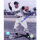 "Duke Snider ""Throwing Ball"" Autographed 16"" x 20"" Photograph (Unframed)"