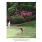 """Arnold Palmer 13"""" x 16"""" Amen Golf Lithograph (Unframed)"""
