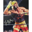 "Hulk Hogan Autographed ""Listen To The Crowd"" 16"" x 20"" Photograph (Unframed)"