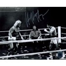 "Hulk Hogan ""Thunderlips"" Autographed 8"" x 10"" Photograph (Unframed) with Sylvester Stallone ""Rocky Balboa"""