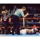 "Hasim Rahman Autographed ""Knock Out Lennox Lewis"" 16"" x 20"" Photograph (Unframed)"