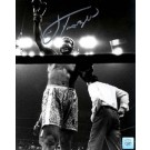 "Joe Frazier Autographed ""Arm Raised"" 30"" x 40"" Black & White Photograph with Muhammad Ali (Unframed)"