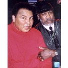 "Joe Frazier Autographed ""Peace of History"" Ali / Frazier Make-Up 2/10/02 8"" x 10"" Color Photograph  (Unframed)"