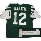 Joe Namath Autographed New York Jets Authentic Jersey
