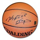 Keith Van Horn Autographed Spalding Indoor /  Outdoor Basketball