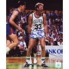 "Larry Bird Autographed ""Yelling"" 8"" x 10"" Photograph (Unframed)"