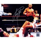 """Larry Holmes Autographed """"Larry Holmes KO'd By Mike Tyson"""" 8"""" x 10"""" Photograph (Unframed)"""