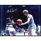 "Magic Johnson Autographed ""NCAA with Larry Bird"" 16"" x 20"" Photograph (Unframed)"