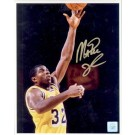 "Magic Johnson Autographed ""Close Up Layup"" 16"" x 20"" Photograph (Unframed)"