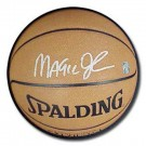 Magic Johnson Autographed NBA Indoor / Outdoor Basketball