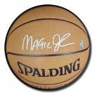 Magic Johnson Autographed NBA Indoor / Outdoor Basketball