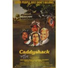 Michael O'Keefe Autographed Caddyshack Poster
