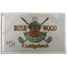 Michael O'Keefe Autographed Caddyshack Golf Pin Flag