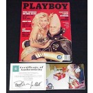 Pamela Anderson Autographed August 1993 Playboy Magazine