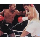 "Sugar Ray Leonard and Roberto Duran Autographed 16"" x 20"" Photograph (Unframed)"