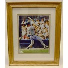 Mark McGwire Framed and Matted 8 x 10 Autographed Color Photograph