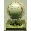Barry Bonds, San Francisco Giants Autographed Baseball