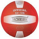 "Tachikara ""Performance"" Indoor / Outdoor Institutional Composite Leather Volleyball (Scarlet) - SV18S"