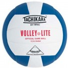 "Tachikara ""Volley-Lite"" Sensi-Tec Composite Leather Volleyball (Royal Blue / White)"