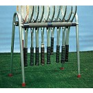 Econo Racquet Stand - Holds 12 Racquets