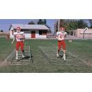 6' W x 20' L Knee High Trainer