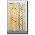 "6' x 12"" Peg Board - 25 Holes"