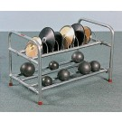 """19""""H x 18""""W x 29""""L Shot and Discus Stand"""