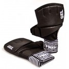 Large / X-Large Pro Wrap Bag Gloves (Black / White) - 1 Pair from TKO Sports