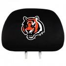 Cincinnati Bengals Head Rest Covers - Set of 2