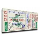 1970 Baltimore Orioles World Series Mega Ticket