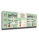 1959 Los Angeles Dodgers World Series Mega Ticket
