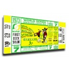 1973 Oakland Athletics World Series Mega Ticket