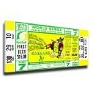 1973 Oakland Athletics World Series Mega Ticket