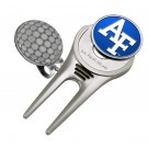 Air Force Academy Falcons Divot Tool Hat Clip with Golf Ball Marker (Set of 2)
