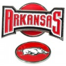 Arkansas Razorbacks Slider Clip with Golf Ball Marker (Set of 3)
