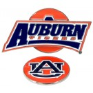 Auburn Tigers Slider Clip with Golf Ball Marker (Set of 3)