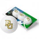 Baylor Bears Top Flite XL Golf Balls 3 Ball Sleeve (Set of 3)