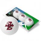 Boston College Eagles Top Flite XL Golf Balls 3 Ball Sleeve (Set of 3)