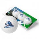 Boise State Broncos Top Flite XL Golf Balls 3 Ball Sleeve (Set of 3)