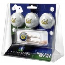 California (UC Berkeley) Golden Bears 3 Golf Ball Gift Pack with Cap Tool
