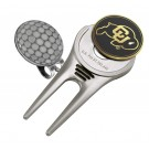 Colorado Buffaloes Divot Tool Hat Clip with Golf Ball Marker (Set of 2)