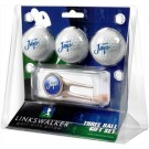 Creighton Blue Jays 3 Golf Ball Gift Pack with Cap Tool
