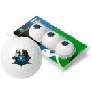 East Tennessee State Buccaneers Top Flite XL Golf Balls 3 Ball Sleeve (Set of 3)