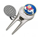 Fresno State Bulldogs Divot Tool Hat Clip with Golf Ball Marker (Set of 2)