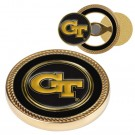 Georgia Tech Yellow Jackets Challenge Coin with Ball Markers (Set of 2)