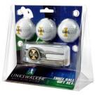 Idaho Vandals 3 Ball Golf Gift Pack with Kool Tool