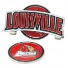 Louisville Cardinals Slider Clip with Golf Ball Marker (Set of 3)