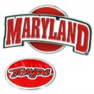 Maryland Terrapins Slider Clip with Golf Ball Marker (Set of 3)